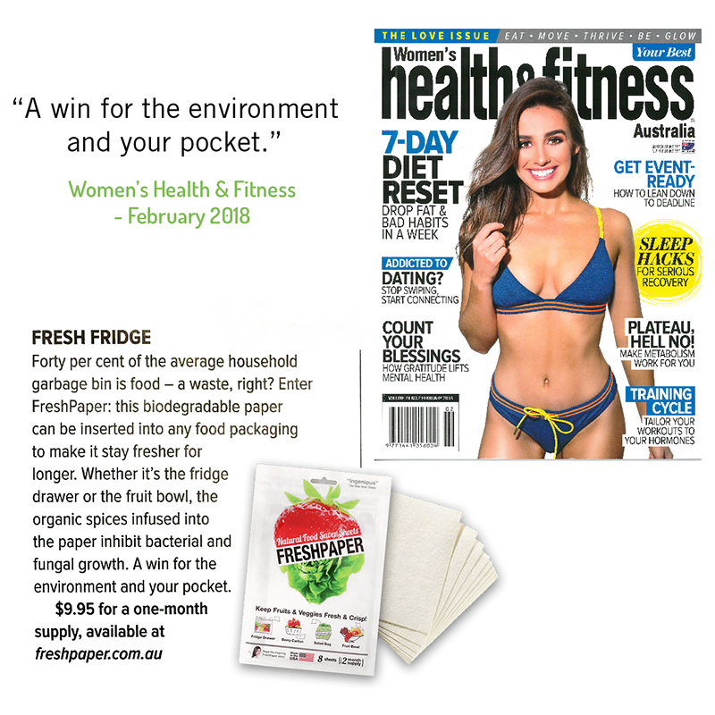 FreshPaper Women's Health & Fitness